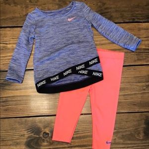 Toddler Nike DRI-FIT outfit